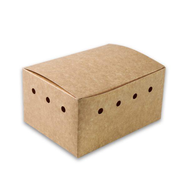 Kraf Karton snackbox, 190x140x100mm gezinsbox