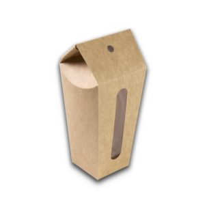 Kraft karton drinkverpakking Popup cup 350 ml en 450 m