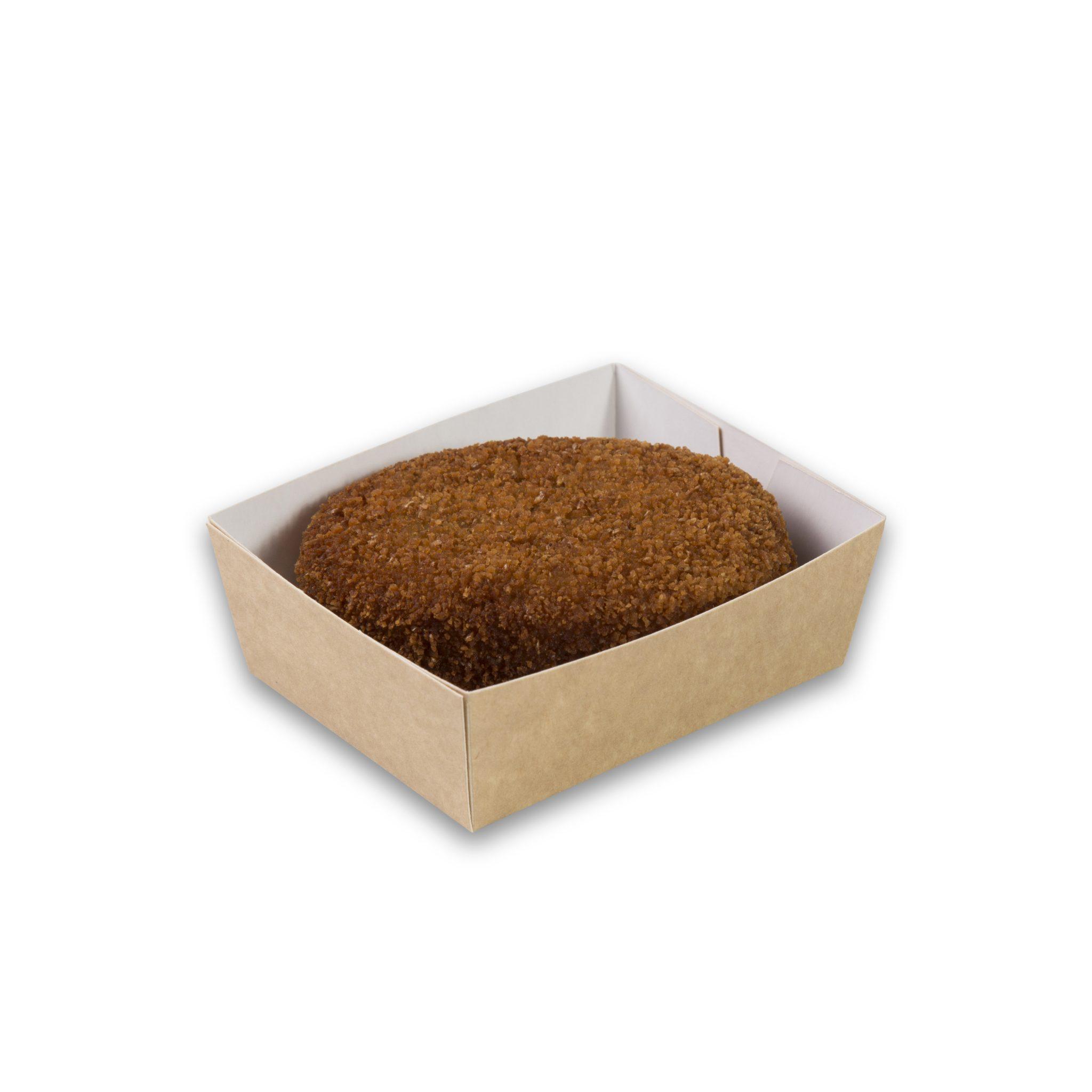 Kraft karton snackbakje A2 small 90x70x35 mm snackverpakking