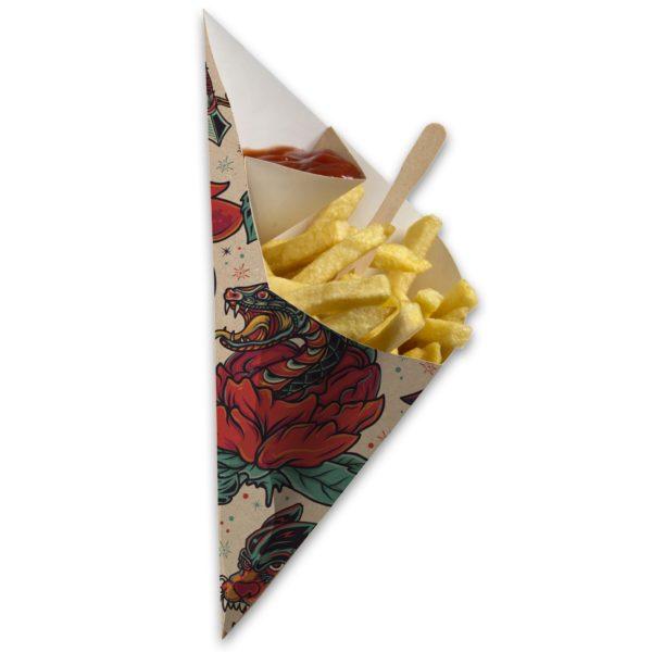 Chip 'n Dip Frietzak Tattoo