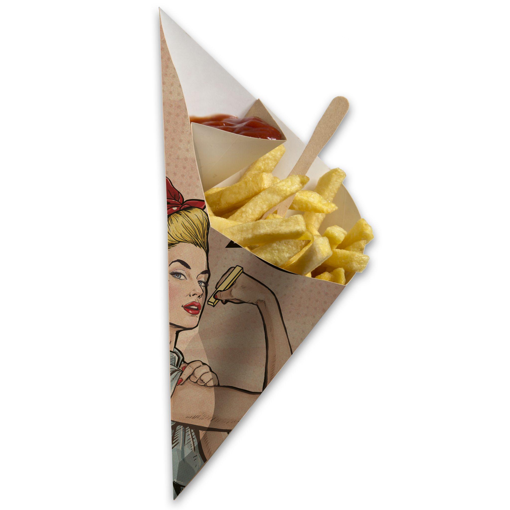 Chip 'n Dip Frietzak Rosie