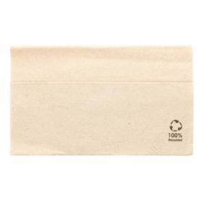 1 laags gevouwen papieren servetten (33x33 cm)