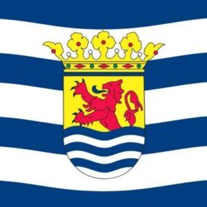Frietzak vlag zeeland